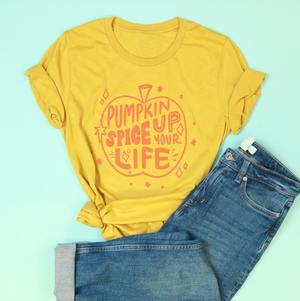 Pumpkin Spice Up Your Life Adult Unisex Tee
