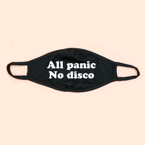 All Panic No Disco Adult Eco Face Mask