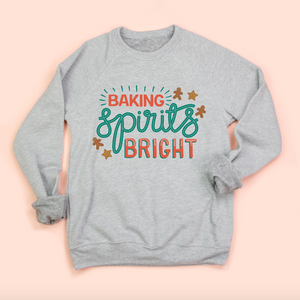Baking Spirits Bright Adult Unisex Sweatshirt