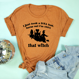 100% That Witch Adult Unisex Tee - Autumn