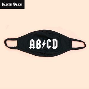 AB⚡CD KIDS Eco Face Mask