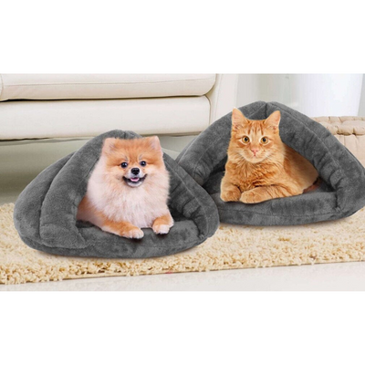 Comfy Covered Pet Bed