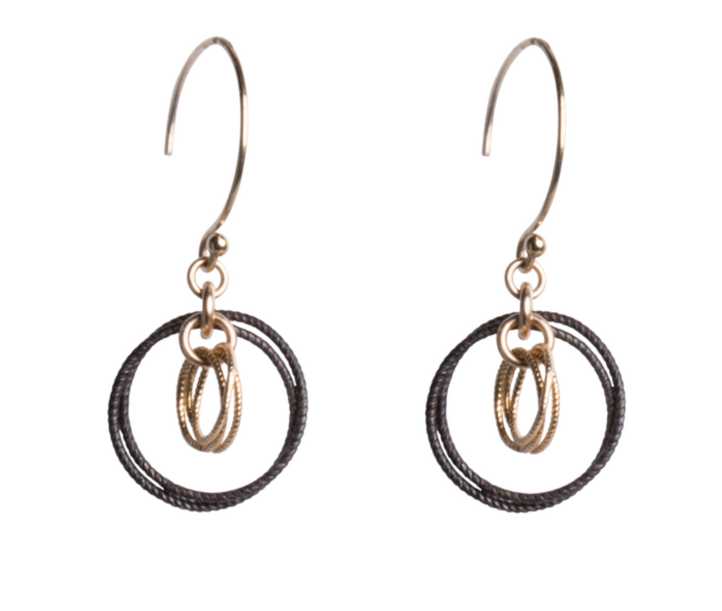 Olivia Earrings-14K GF/SS