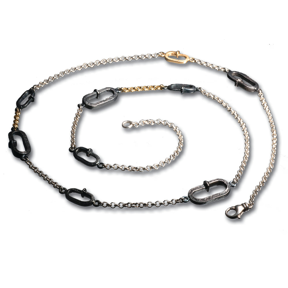 REALSTEEL — Oval Links Necklace