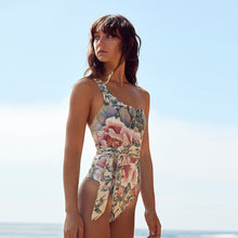 Load image into Gallery viewer, Floral Print One Piece