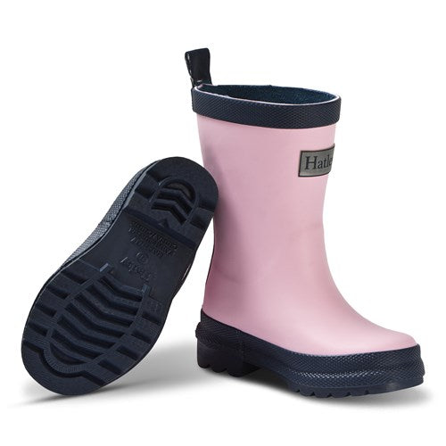 Hatley Pink And Navy Wellingtons Pink305