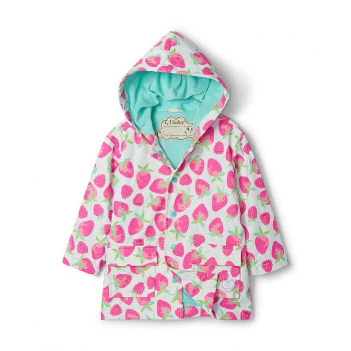 Hatley Girls Berries Raincoat S21fsk1336