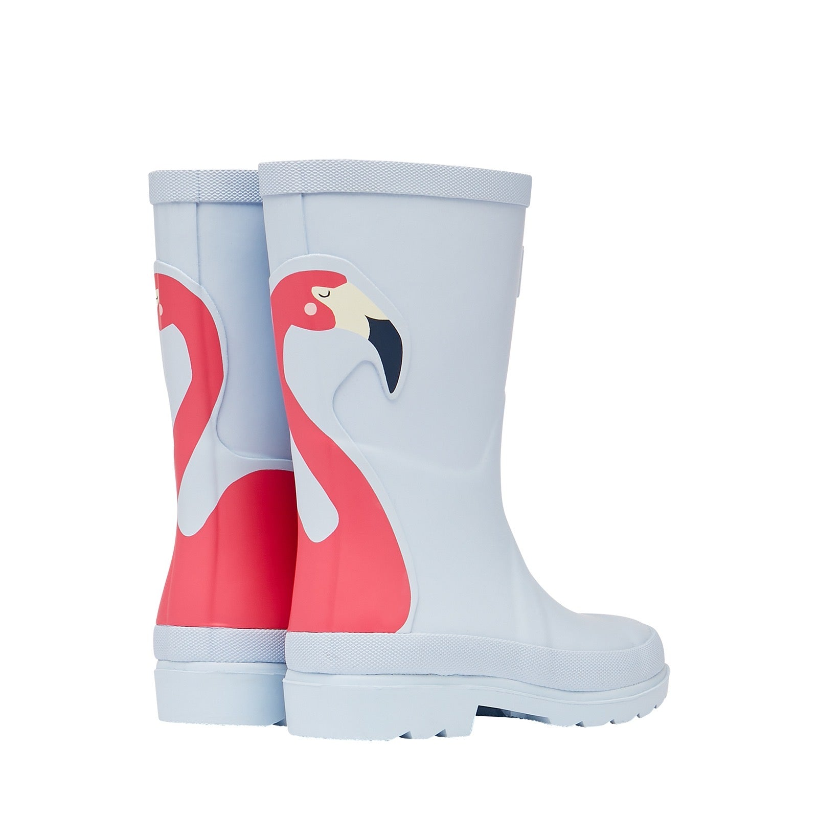 Joules Girls Flamingo Wellingtons 212680