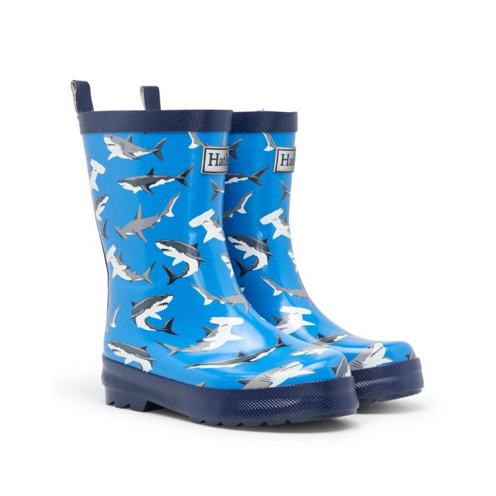 Hatley Boys Deep Sea Sharks Wellingtons S21rek1366
