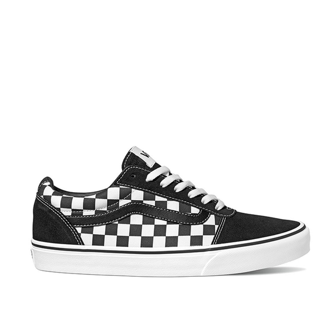 Vans Mens Ward Black And White Check Pvj1