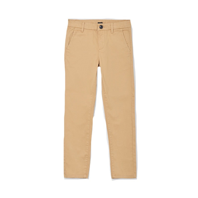 Mayoral Older Boys Chinos 530 Camel
