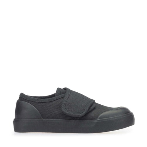 Startrite Skip Black Canvas Pump 6529