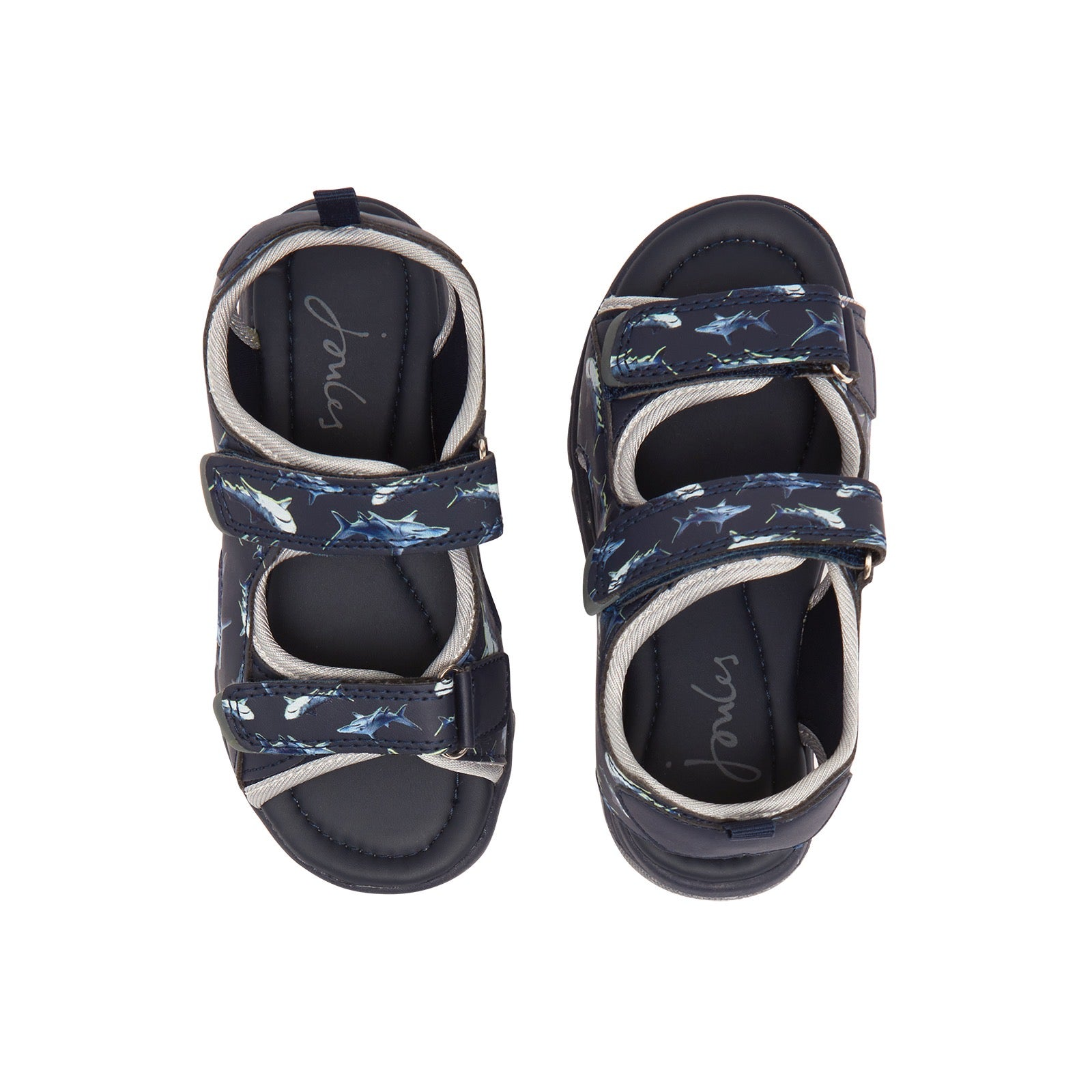 Joules Rockwell Navy Shark Sandals
