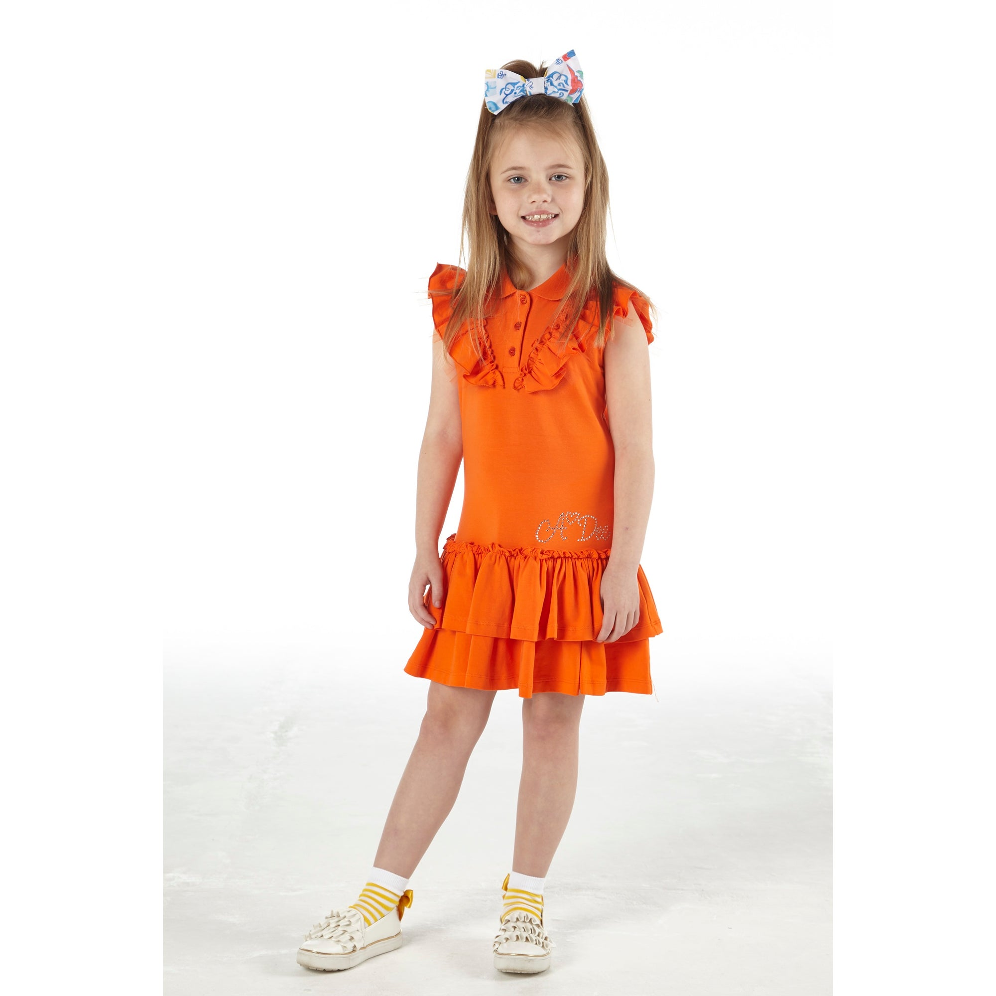 Adee Lauryn Tennis Dress S211704 Orange