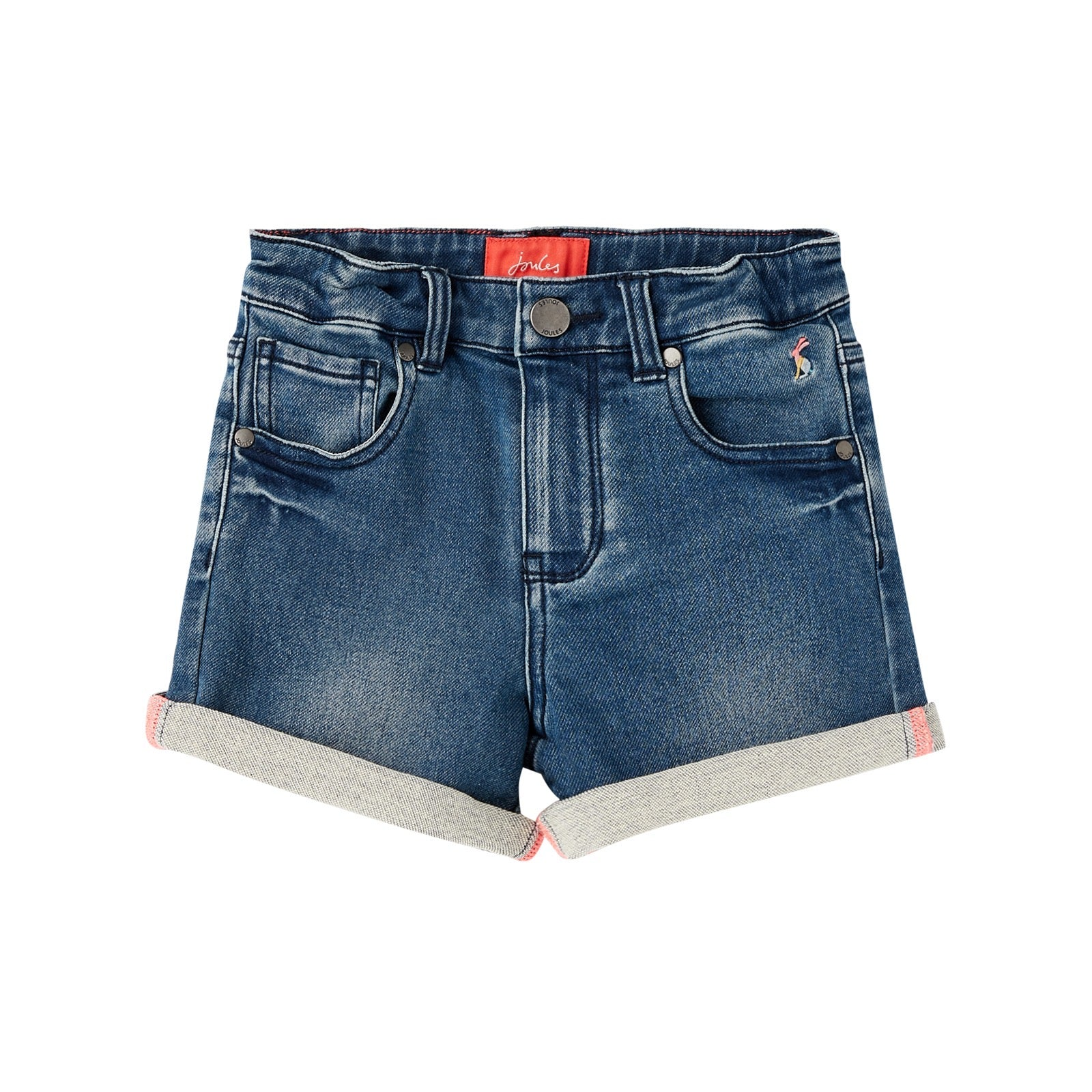 Joules Girls Monaco Denim Shorts 213899