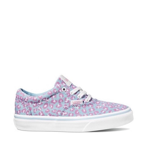 Vans Doheny Dream Blue Cheetah Canvas Shoes