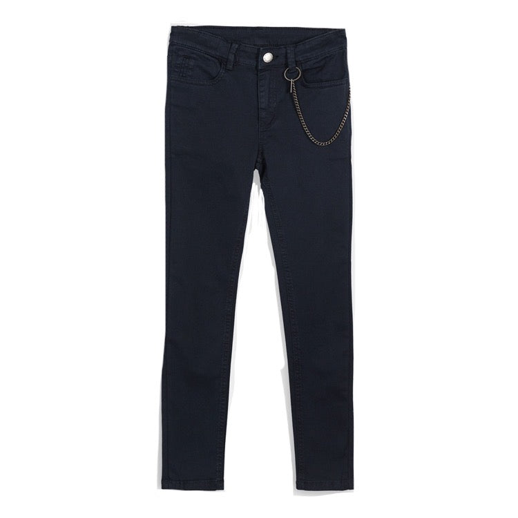 Mayoral Older Boys Skinny Fit Jeans 7523 Black