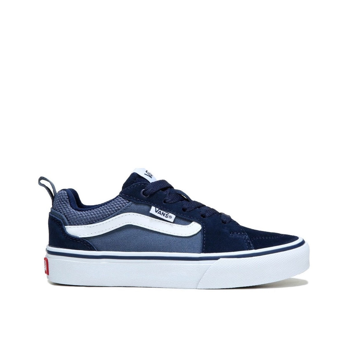 Vans Mens Filmore Suede Canvas Shoe Blue