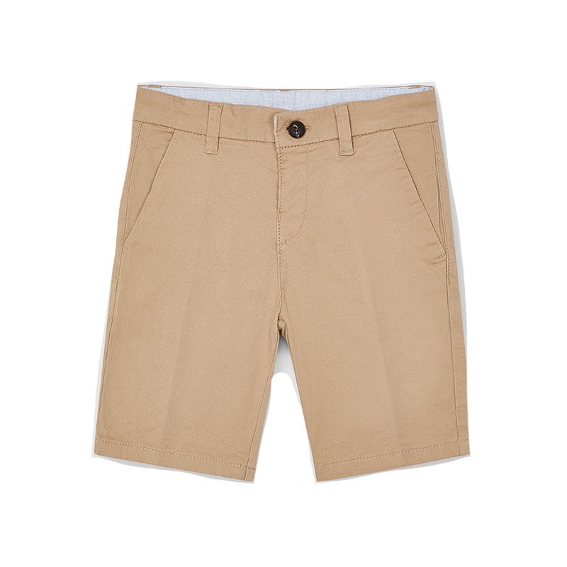 Mayoral Boys Chino Shorts 202 Beige