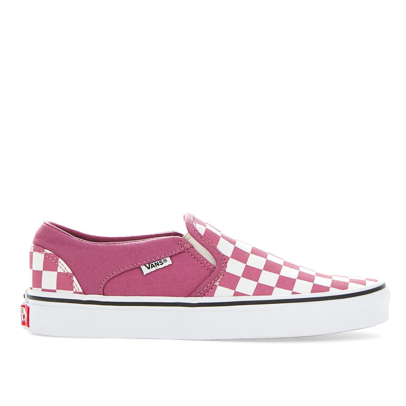 Vans Womens Asher Rose Check Vn0a32qm28l1
