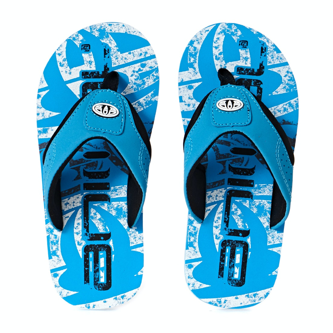 Animal Boys Jekyl Logo Flip Flops Fmoss600 Blue