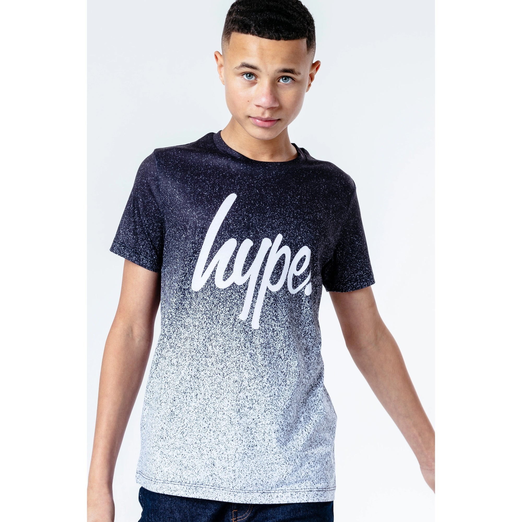Hype Boys Speckle Fade T-Shirt Ywf264