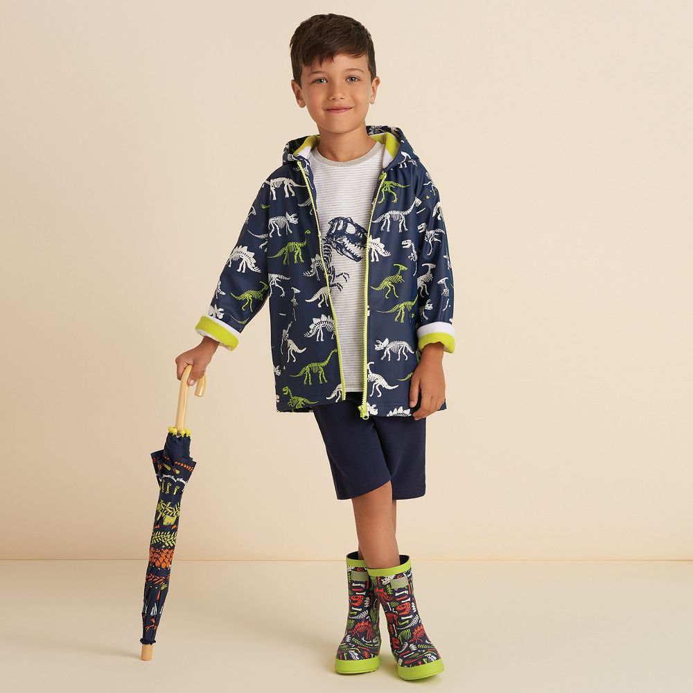 Hatley Boys Colour Changing Splash Jacket S21dbk818