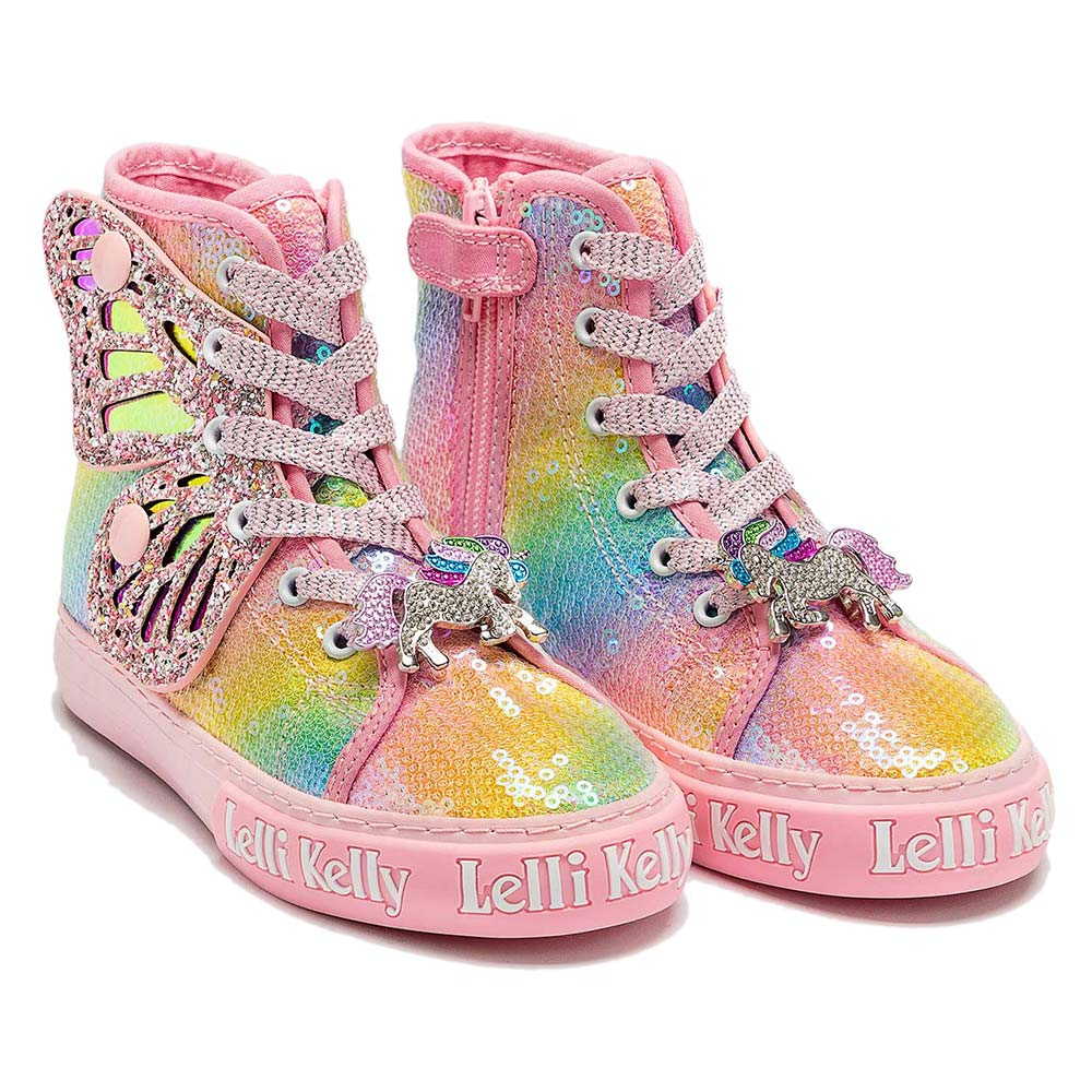 Lelli Kelly Unicorn Wings Baseball Boots L21e1331