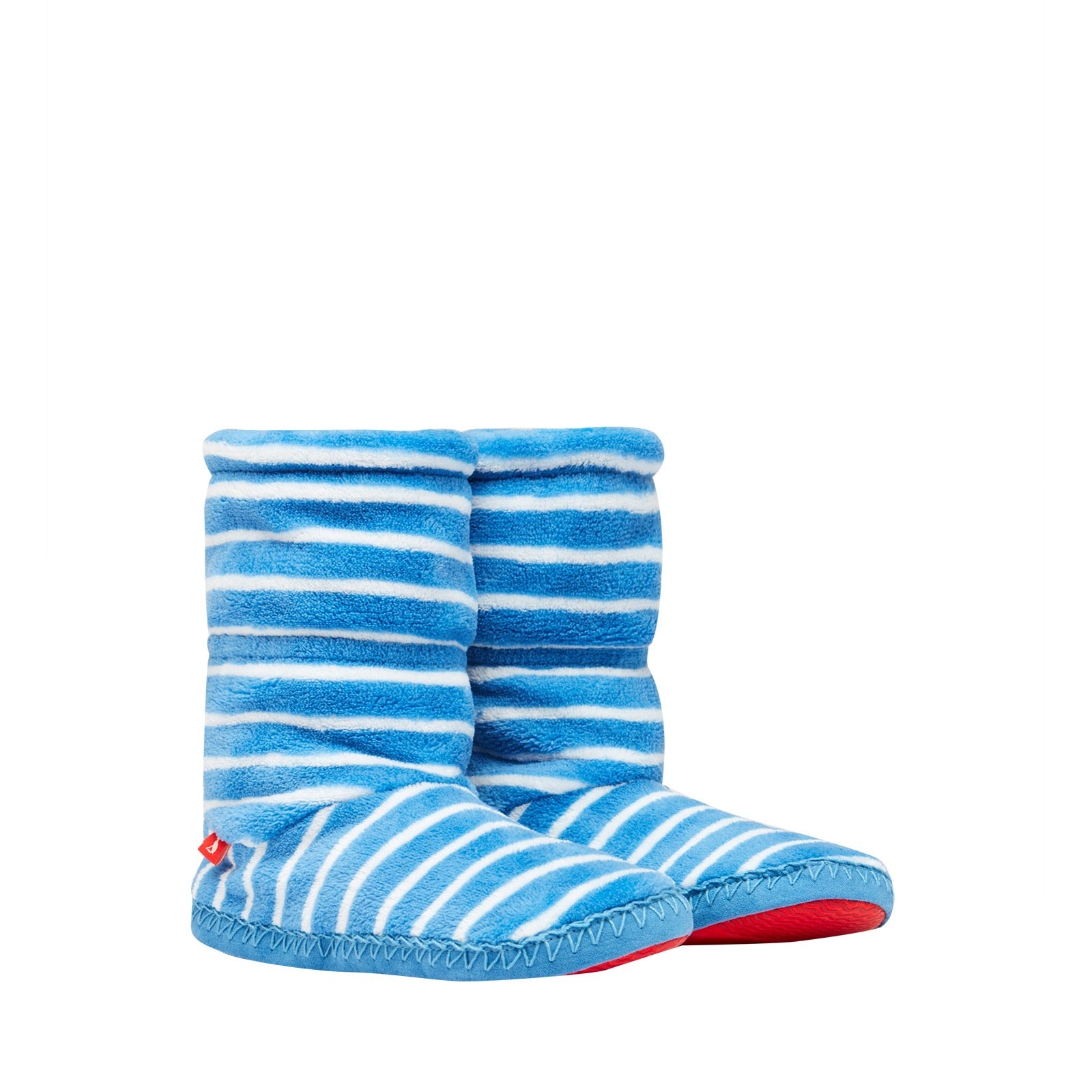 Joules Boys Padabout Slippers Blue Stripe 209951