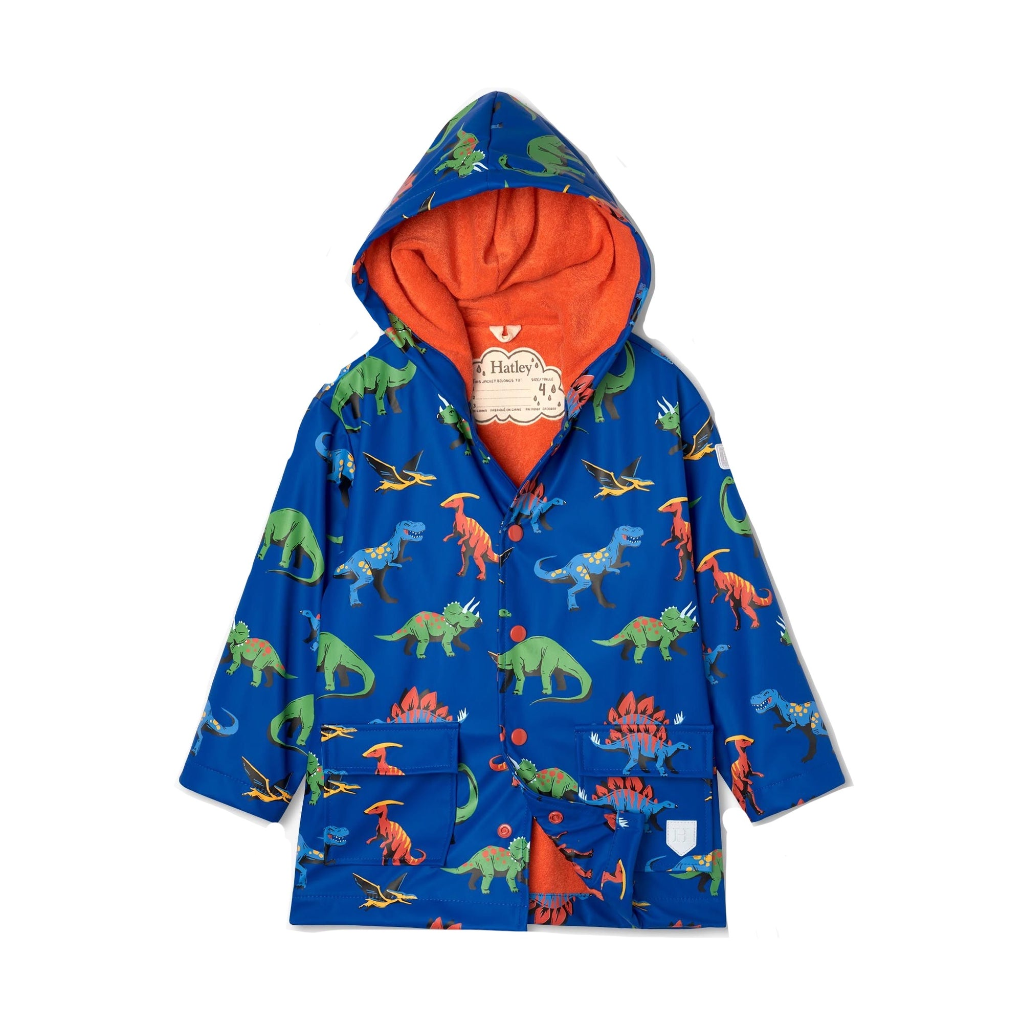 Hatley Boys Dino Raincoat S21dik1336