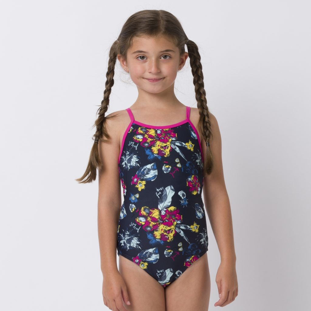 Animal Hanalei Swimsuit Cl0ss805 Indigo