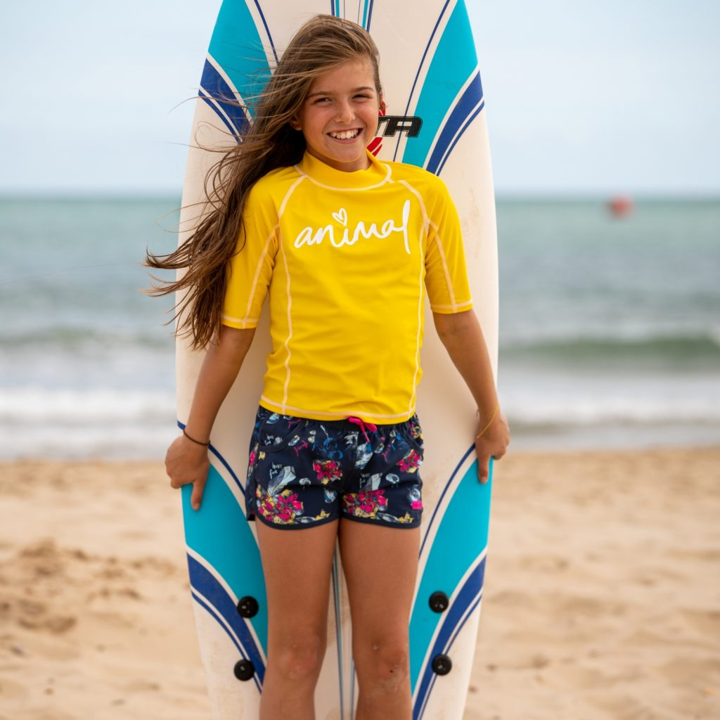 Animal Molli Rash Vest Cl0ss812 in 2 colours