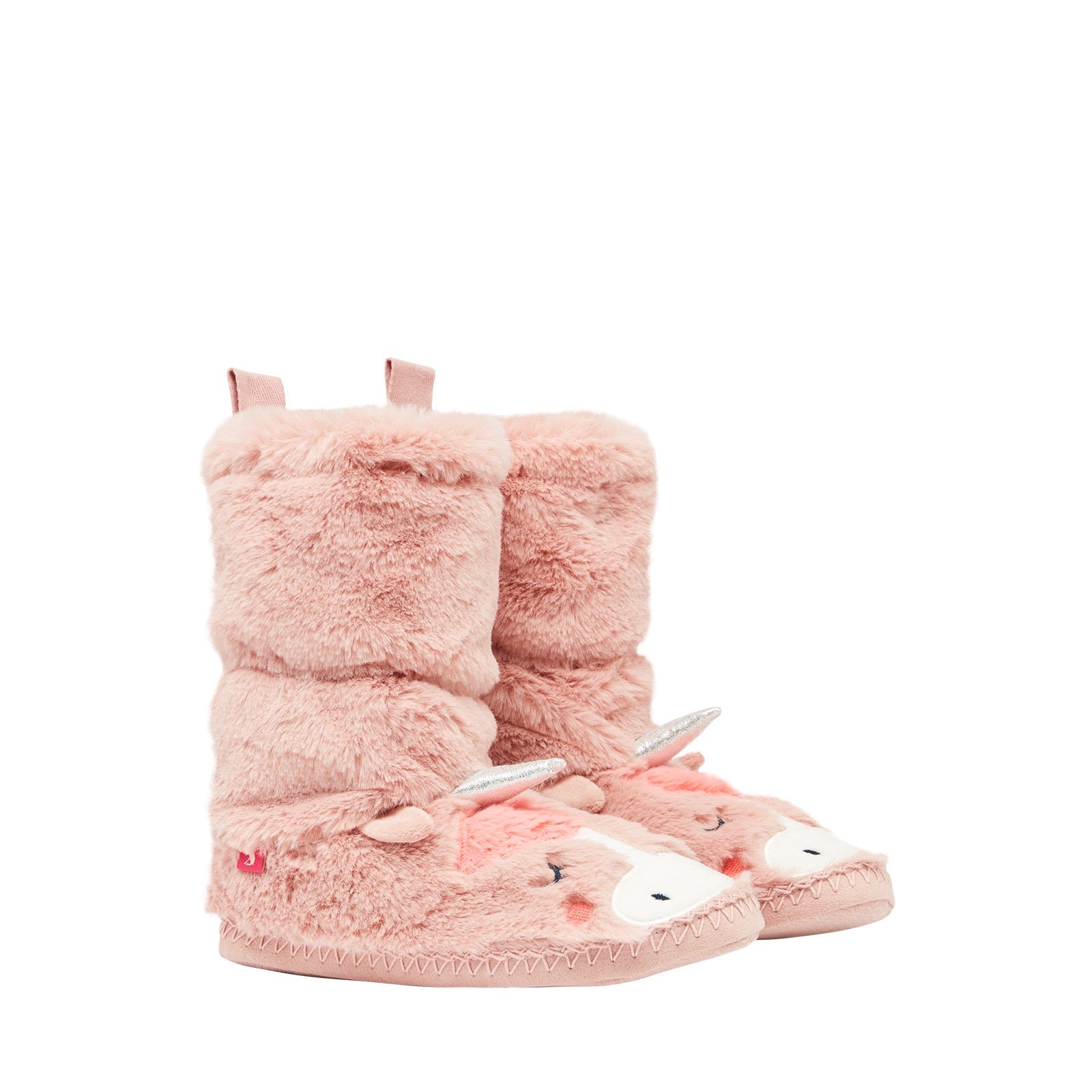 Joules Luxe Padabout Unicorn Slippers