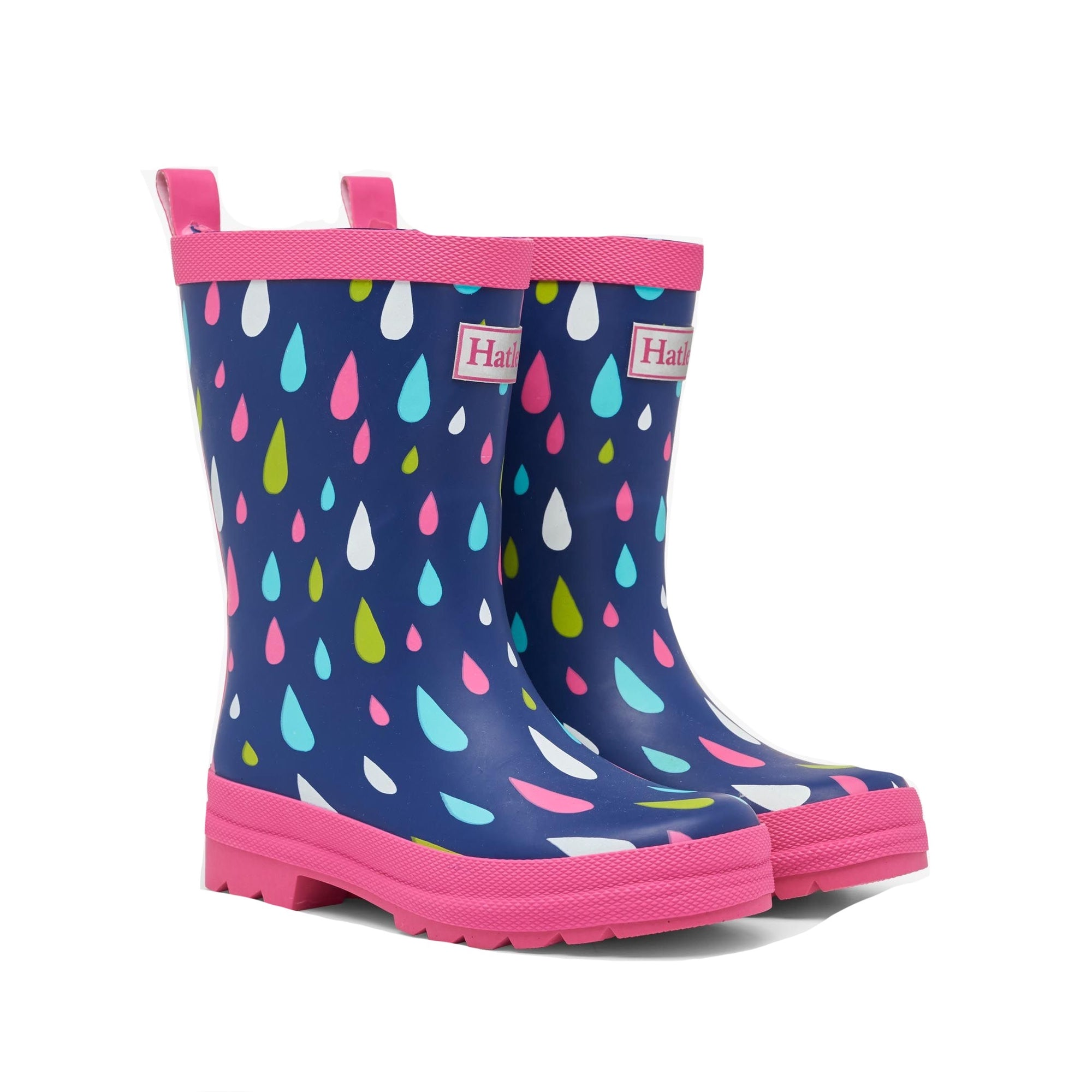 Hatley Girls Raindrop Wellingtons S21ddk1367