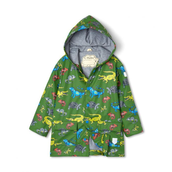 Hatley Boys Aquatic Reptiles Raincoat S21rek1336