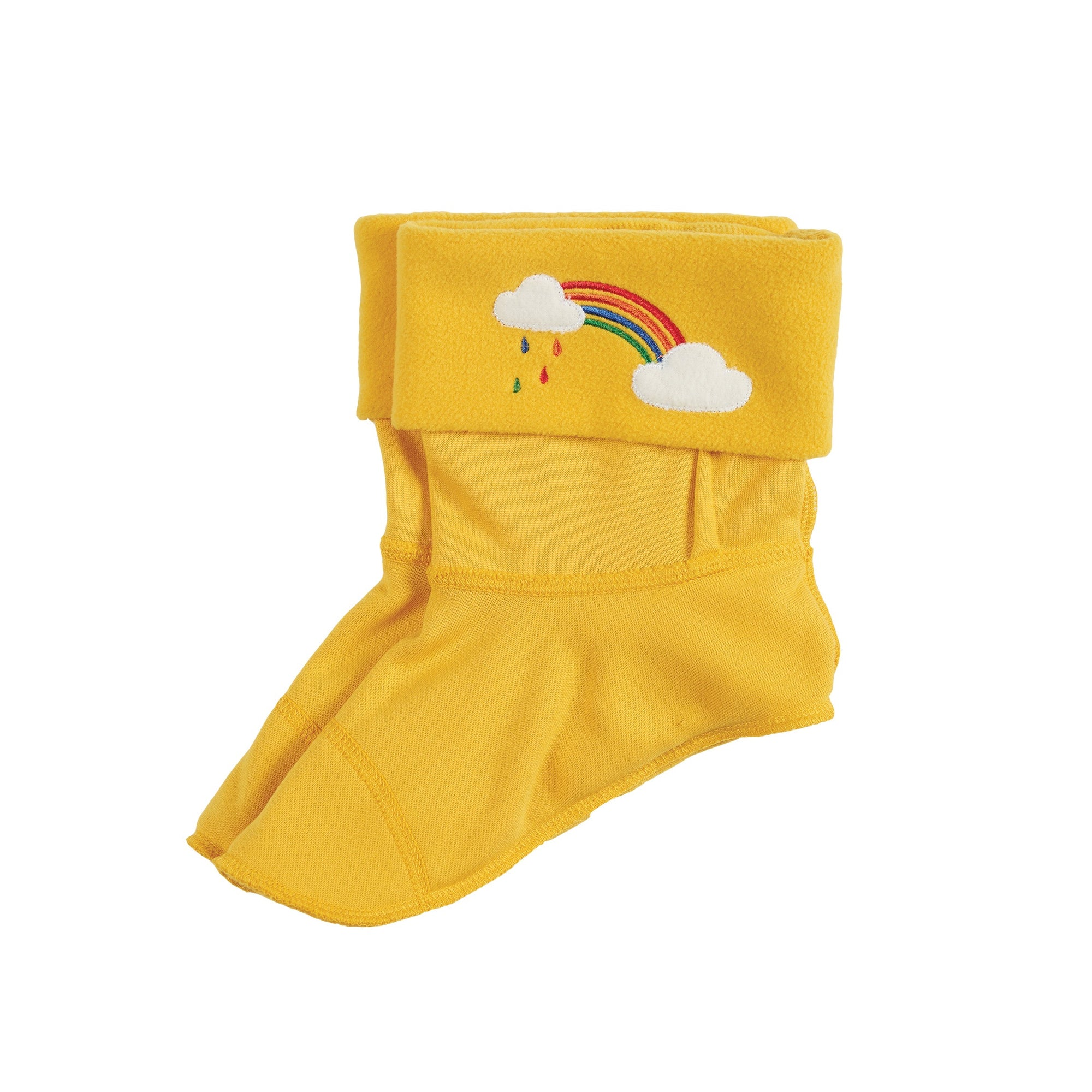 Frugi Welly Liner Yellow Rainbow