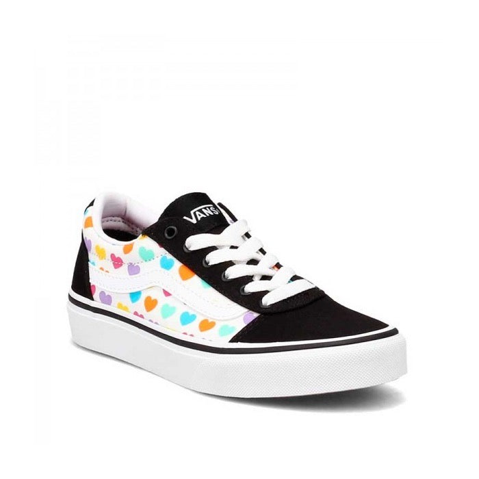 Vans Girls Ward Multi Hearts Vn0a3tfw3qw1