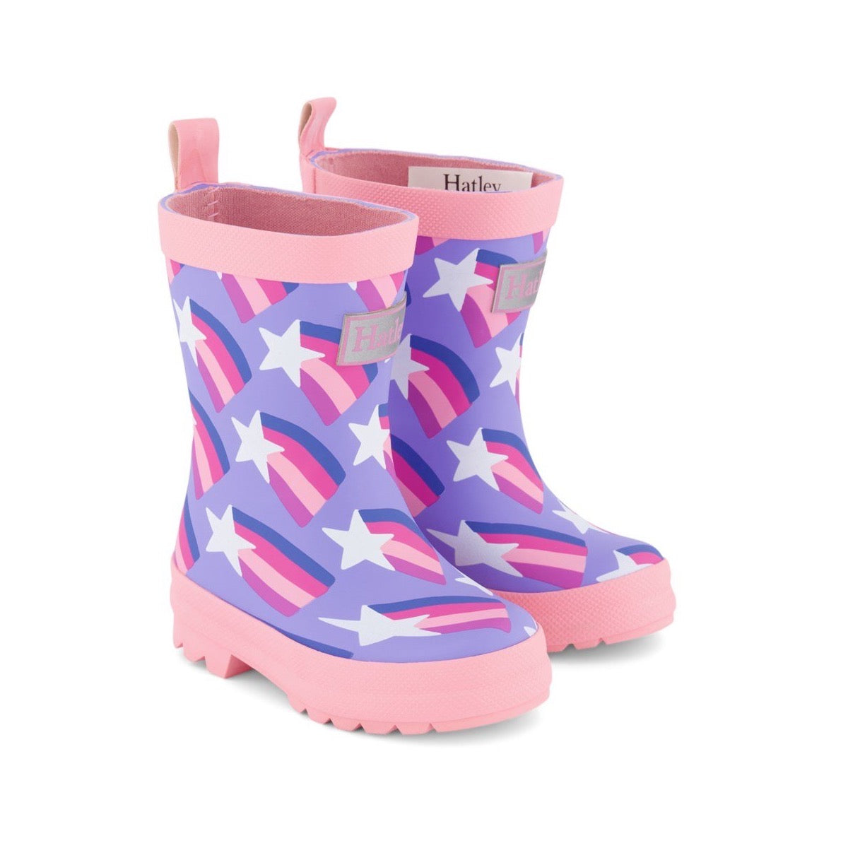 Hatley Girls Shooting Stars Wellingtons