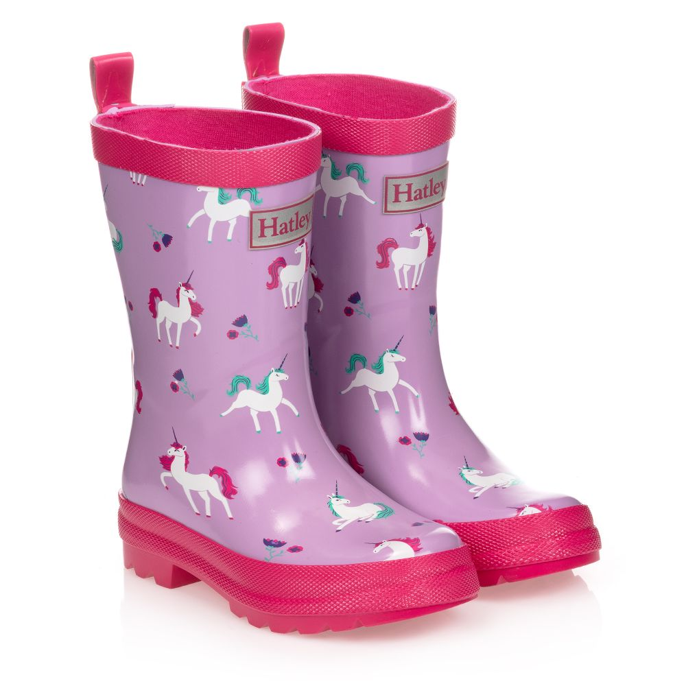 Hatley Girls Unicorns Wellingtons Puk1366