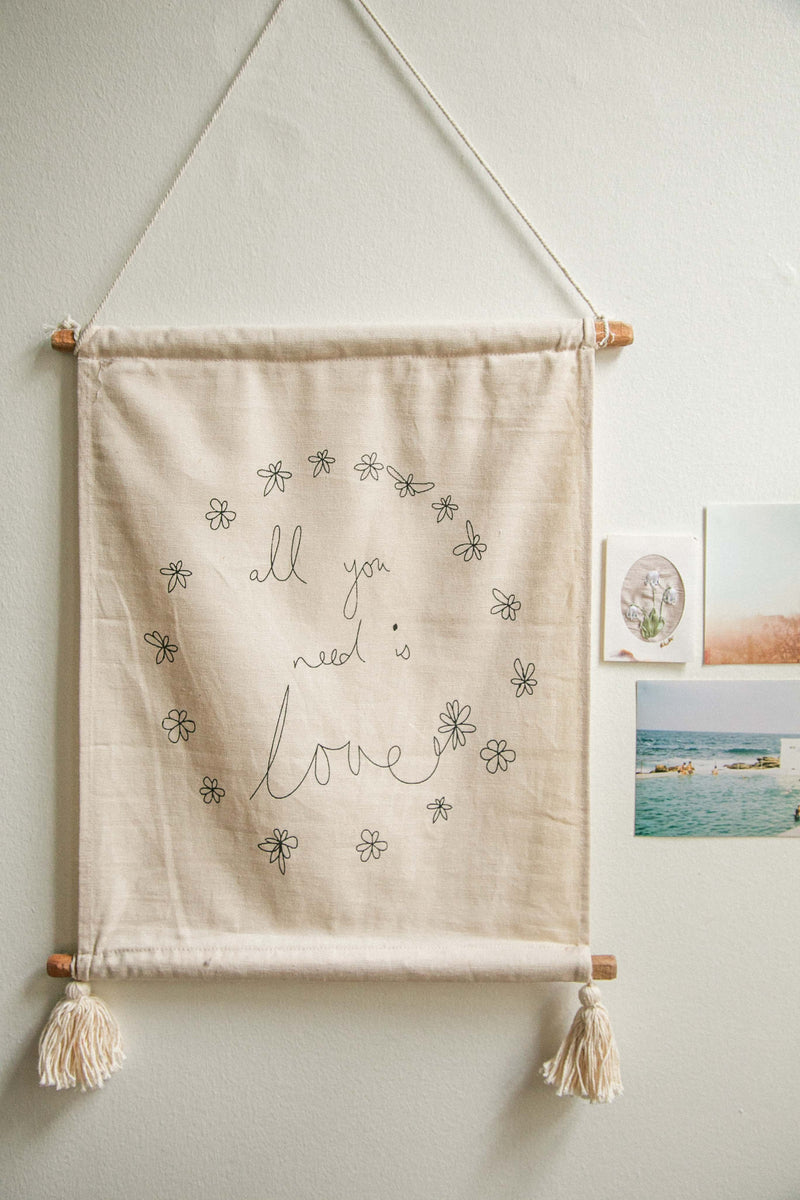 All You Need Is Love Wallhanging