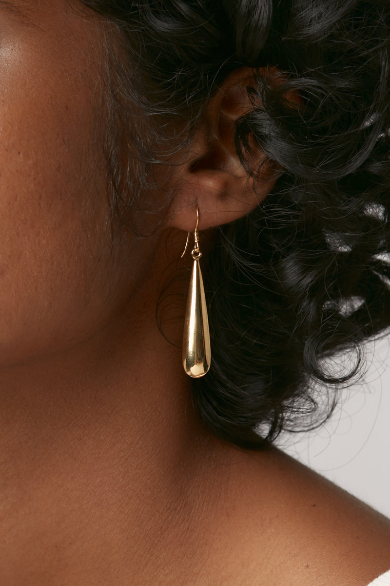 Gold Aria Earrings