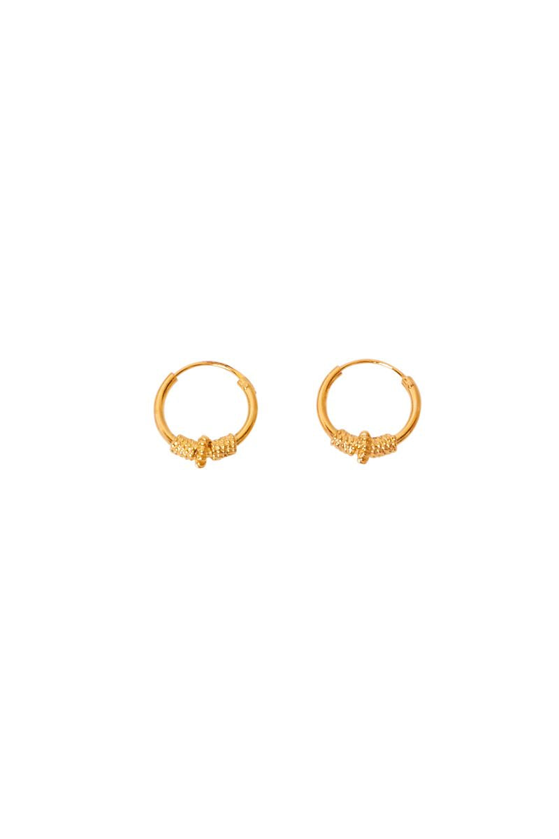Gold Zita Tribal Hoops