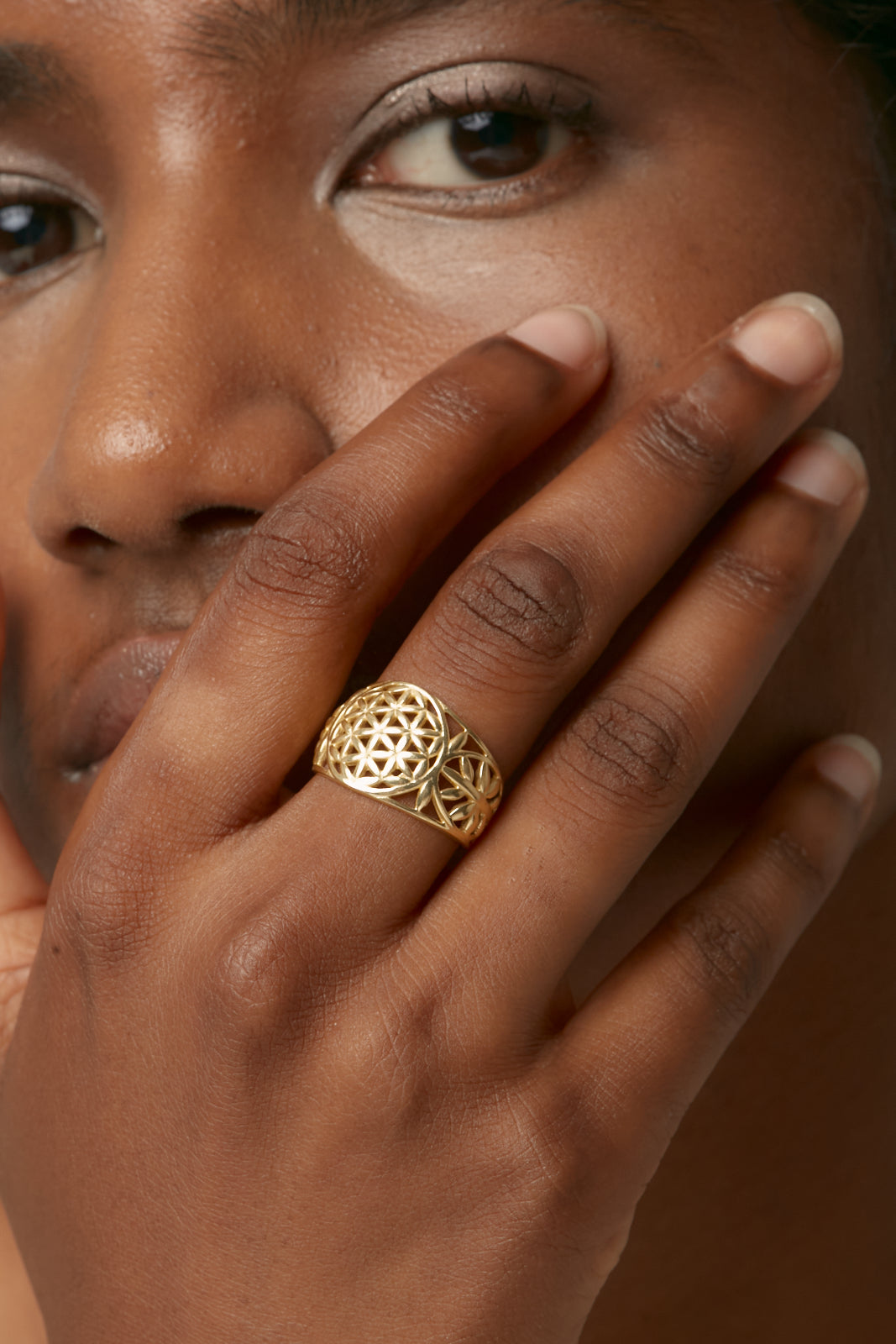 Gold Sacred Ring