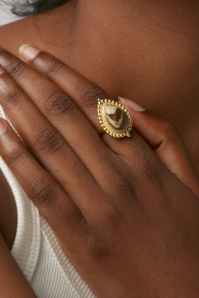 Gold Sai Ring