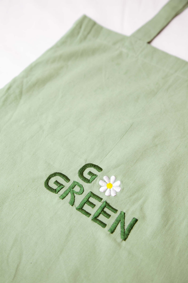 Linen Go Green Bag
