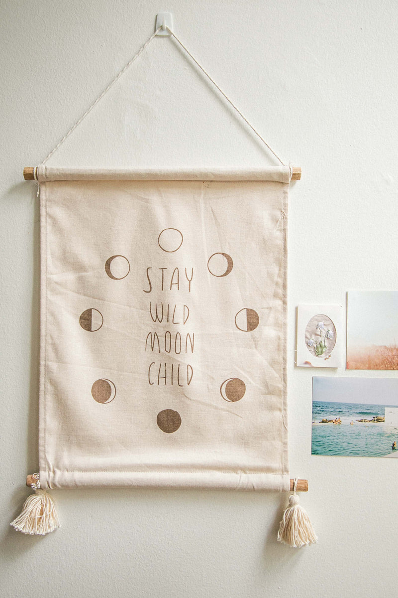 Moon Phase Wallhanging