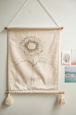 Sunflower Wallhanging