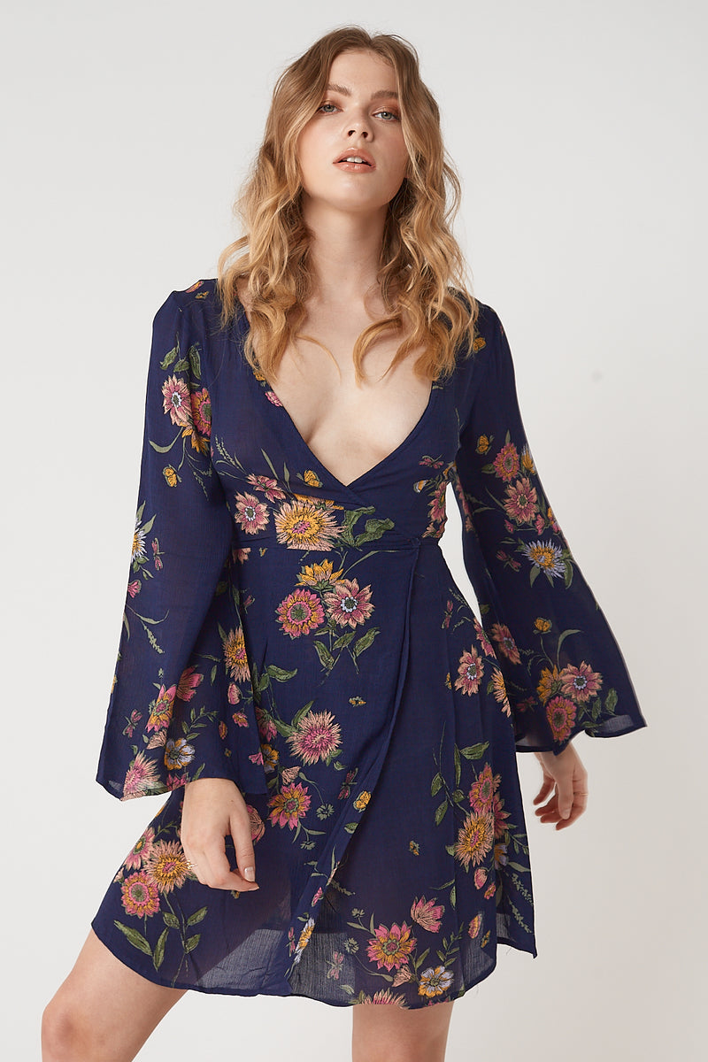 Elyse Wrap Dress
