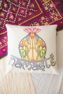 Namaste Cushion Cover