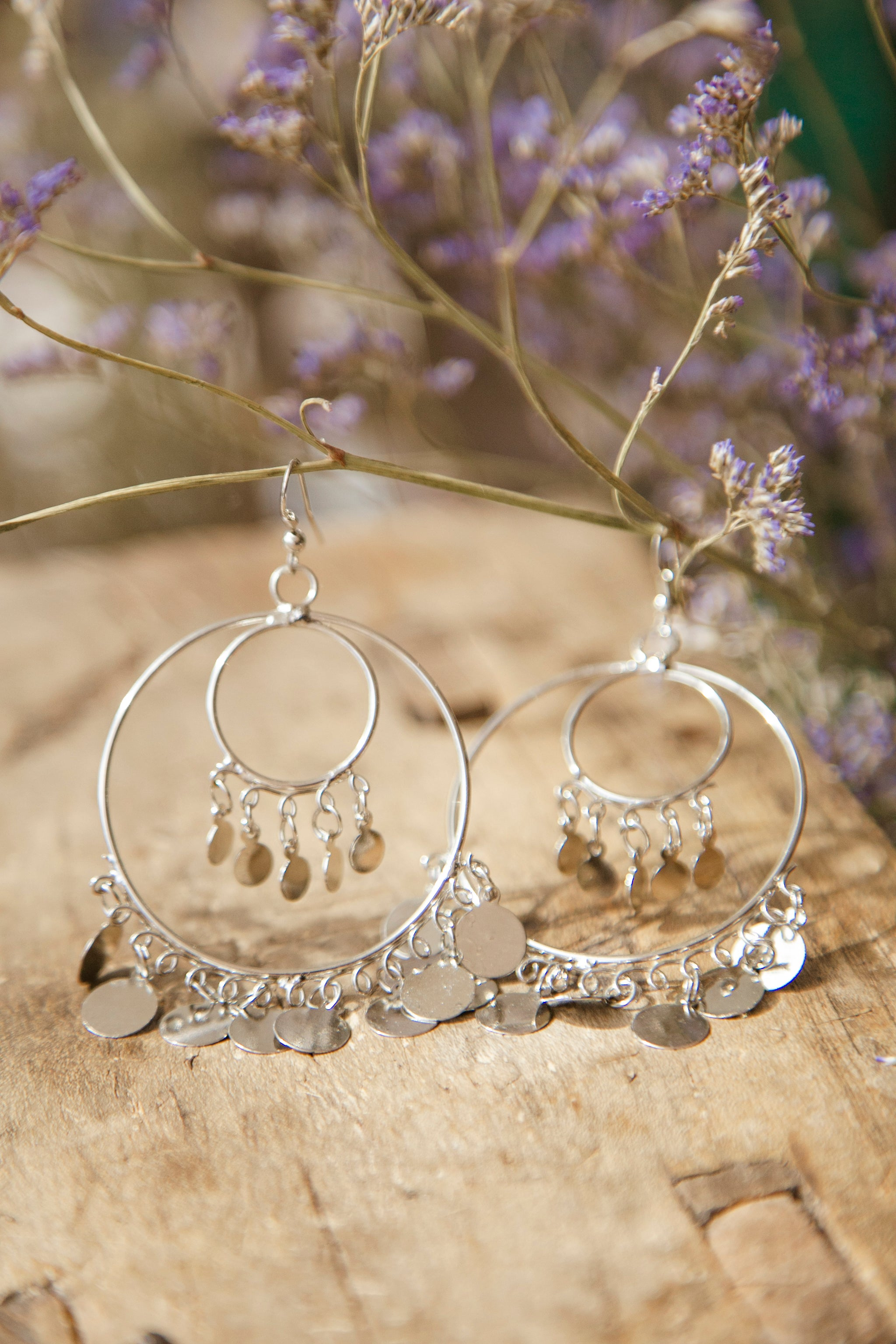 Medium Double Hoop Earrings
